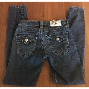 TRUE RELIGION Legging Jeans flap pockets